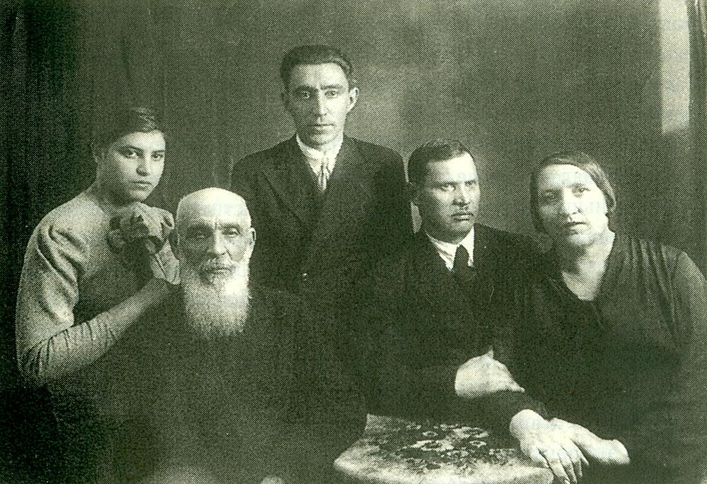 Marija Smekhova mit dem Sohn Veniamin (Venja) – dieses Foto hatte ...